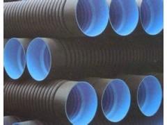 柯瑞达新型材料专业批发各种HDPE双壁波纹管污水排水管