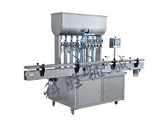 鄂尔多斯市科胜全自动12头自流式灌装机|化妆品灌装机