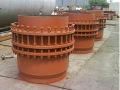 雙向套筒補償器廠家佛山昌旺耐油耐高溫套筒伸縮節規格尺寸標準