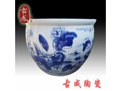景德镇陶瓷浴缸 洗浴中心青花瓷泡澡缸