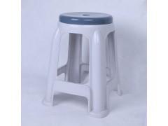 歐式時尚拼色塑料凳子