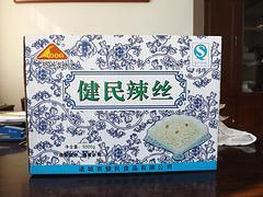 供应潍坊新品恐龙牌辣丝 健民食品厂家