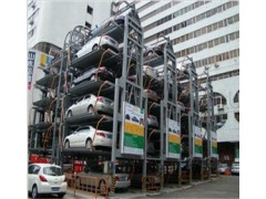金力液壓機械垂直升降立體車庫生產廠:山東立體車庫