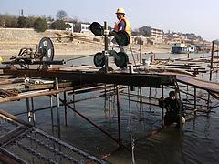 专业的水下混凝土切割|广东水下桥梁桥墩切割哪家好