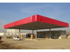 銀川地區品質好的寧夏恒銀結構加油站網架_西安加油站網架哪家好