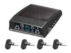 太陽能 內置 胎壓監測報警器廠家:零行智能科技