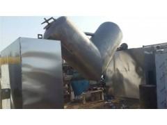 山东供应不锈钢多效V型干燥混合机100升到3立方厂家辉腾二手设备最专业
