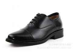 3515強人 手工牛皮定制 三接頭皮鞋 低腰皮鞋 高檔商務鞋