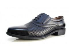3515強人新款皮鞋 07夏季鏤空透氣皮鞋 三接頭皮鞋