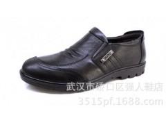 3515強人新款皮鞋 車縫頭 皮革拼接休閑皮鞋批發