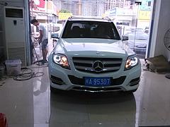 福州奔驰GLK大灯改装报价_专业的奔驰GLK大灯