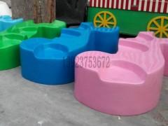 惠州实惠的多位玻璃钢美陈坐凳供销 深圳玻璃钢休闲椅