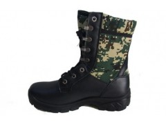 強人迷彩作戰靴 高幫數碼迷彩作戰靴 戶外拓展防護靴