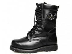 3515強人羊毛靴 強人軍靴 高幫鞋特種兵戶外靴皮 男軍靴