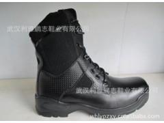 3515 强人军靴 高帮强人皮靴 作战靴 训练军靴批发