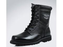 3515強人軍工新款真皮男靴戶外時尚軍靴8寸特種兵作戰靴
