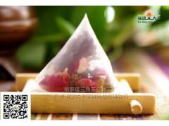 玫瑰花三角茶包加工|三角袋泡茶加工厂|三角袋泡茶代加工|三角茶包代加工厂