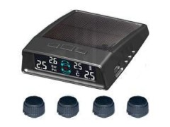 零行太陽能外置胎壓監測報警器:安裝方便 穩定 安全!