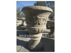 曲阳石材花盆 雕塑 永权雕塑供应商