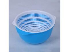 欧式双层塑料沥水篮
