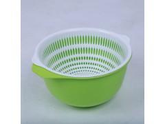 创意双层塑料洗菜篮