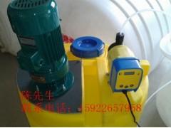 MC300L特制搅拌桶水处理加药箱0.3吨PE熟胶罐全国热销