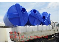 厂家直供耐酸碱聚乙烯加药水箱 4立方环保立式食品级PE搅拌桶