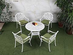 厦门休闲家具花园家具 哪里有卖价位合理的铸铝桌椅