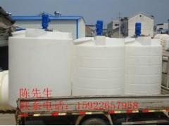 供应2吨平底锥底塑料搅拌桶 洗洁精搅拌罐 PE化工搅拌罐