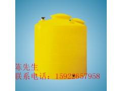 厂家直销平立式6吨PE桶 食品级圆柱形酸碱贮药罐加药箱