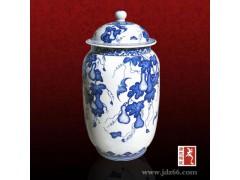 陶瓷礼品罐定做 景德镇陶瓷礼品罐厂家  陶瓷礼品罐价格