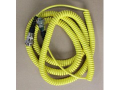 摊铺机36束平衡梁6芯0.5平方弹簧电线厂家4芯螺旋电缆厂家