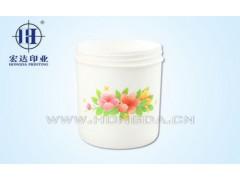 水仙花罐子热转印工艺
