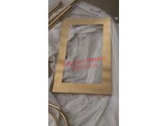 供应上海大型画展不锈钢画框 迷人香槟金不锈钢画框厂家直销