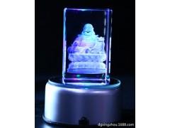 东莞厂家订做水晶激光内雕工艺品家居镇宅保平安水晶佛像工艺摆件