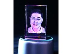 广东内雕照片人像激光内雕厂家加工专业创意礼品水晶玻璃工艺品
