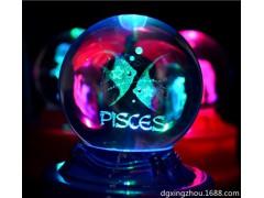 厂家供应水晶玻璃来样加工定制 有机玻璃亚克力激光内雕