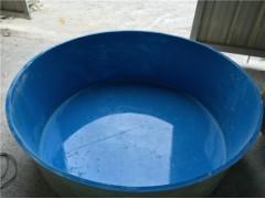 【庭院玻璃钢鱼池养鱼 鱼苗孵化池 暂养桶 鱼池的价格】