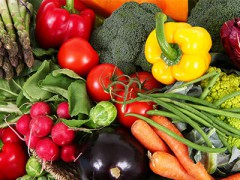 天然有機蔬菜