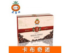 广州蓝爵仕卡布基诺咖啡盒装  OEM代加工 现货批发