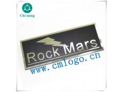 供应汽车功放铝标牌 喷漆拉丝点漆铭牌 logo设计