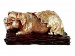 动物福气吉祥猪树脂工艺品装饰品