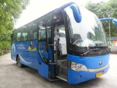 成都17-50座豪華大客車 大中型巴士租賃 機場接送