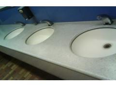 人造石浴室台面、商场洗手台台面、卫生间先手台台面