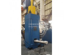 ys67-323铝屑压饼机 方饼铝屑压块机高产量