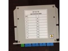 1分4 1分8 1分16光分路器 PLC插片式分路器 分光器