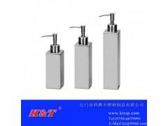供應不銹鋼方形衛浴潔具套裝/乳液瓶