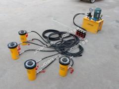 同步顶升系统出租|便宜的PLC同步控制电动液压千斤顶推荐