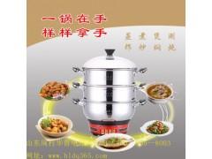 多功能电热锅可以炒菜吗?不沾不糊 就选华鲁