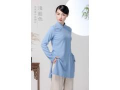 二喜茶服中式棉麻汉服原创品牌一件代发厂家直营批发